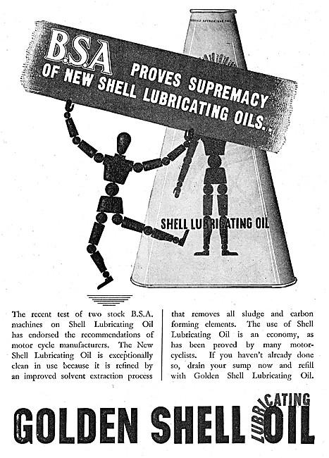 Golden Shell Engine Oil