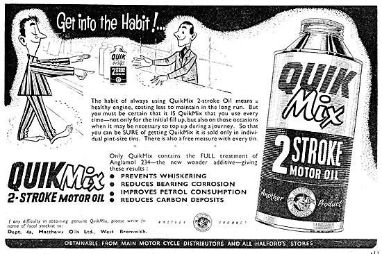 Silver Knight QuikMix 2 Stroke Oil