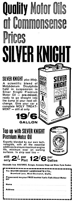 Silver Knight SAE 30 Motor Oil + Moly