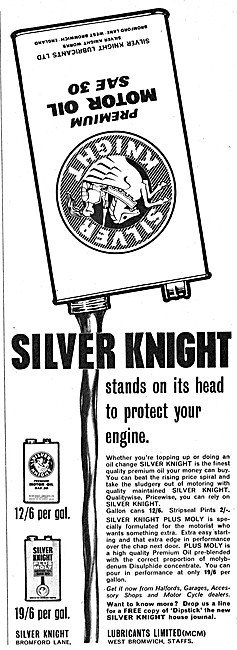 Silver Knight Motor Oil SAE 30 - Silver Knight Plus Moly