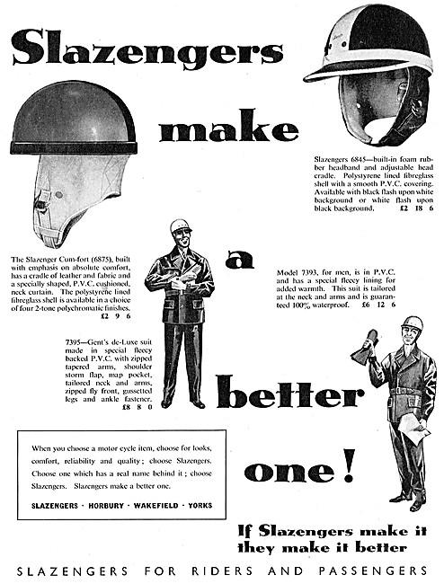 Slazenger Motor Cycle Helmets