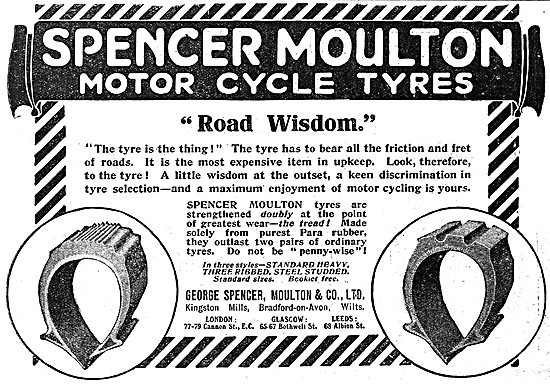 Spencer Moulton Motor Cycle Tyres