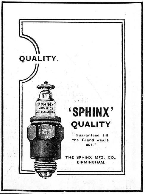 Sphinx Spark Plugs