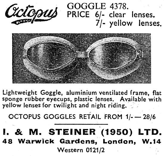 Steiner Octopus 4378 Goggles