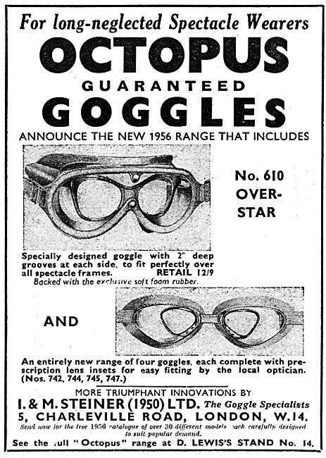 Steiner Octopus No 610 Over-Star Goggles