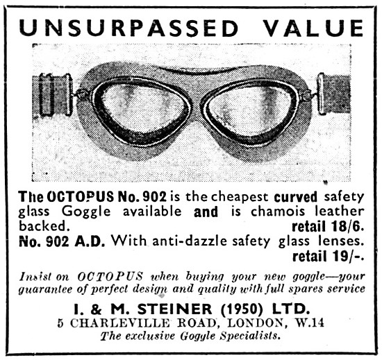 Octopus 902 Motorcyclists Goggles