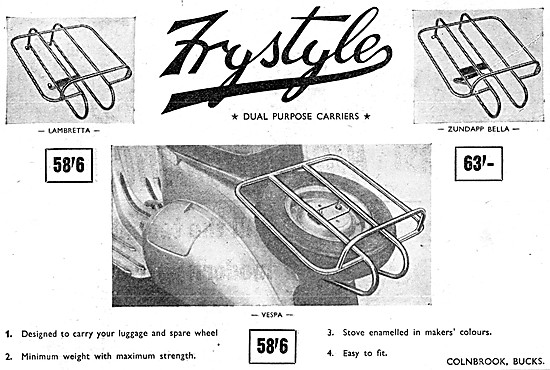 Frystyle Luggage Carriers