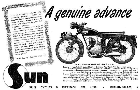 Sun Challenger De Luxe 200 cc