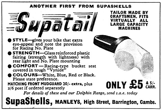 Butler Supa Suptatail Raciing Seat Assembly