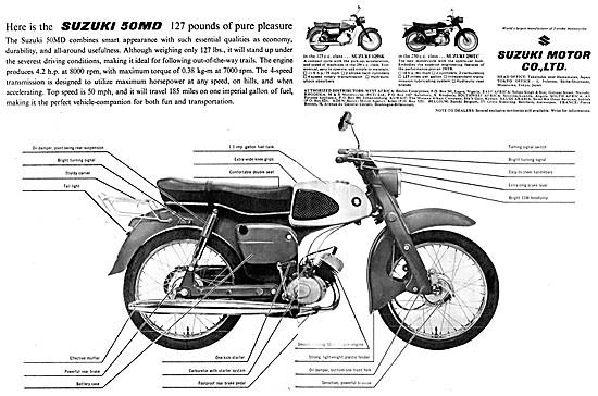 Suzuki 250 ST - Suzuki 125SK - Suzuki 50MD