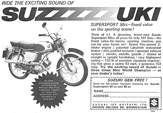 Suzuki Supersport 50 cc