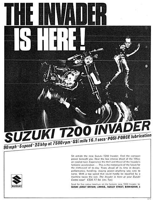 Suzuki T200 Invader