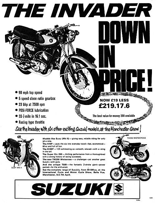 Suzuki Invader 1968