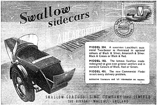Swallow Sidecars