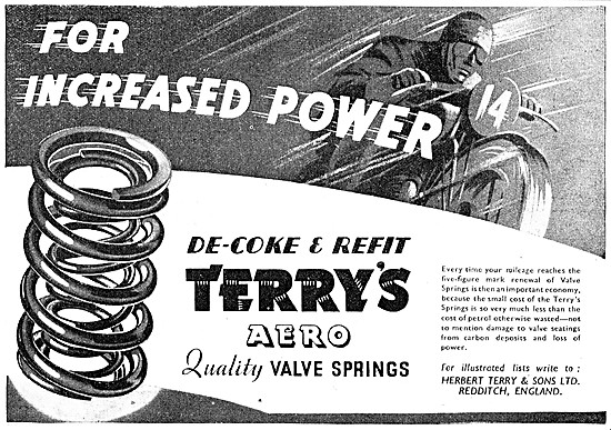 Terrys Aero Valve Springs