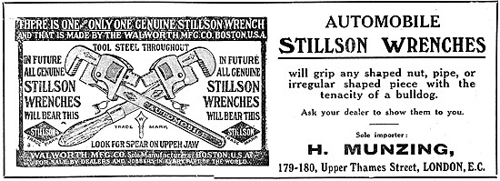 Stillson Wrenches