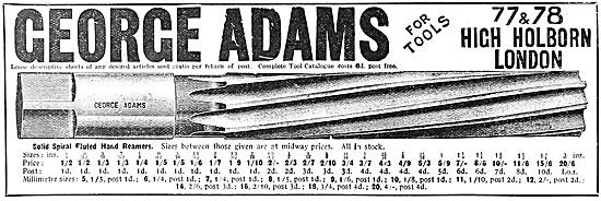 George Adams Tools - Hand Reamers