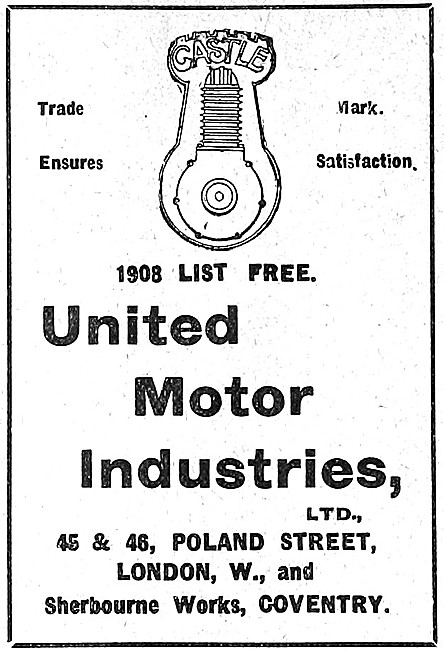 United Motor Industries. UMI Motor Cycle Parts