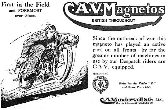 C.A.V Magnetos - CAV Magnetos