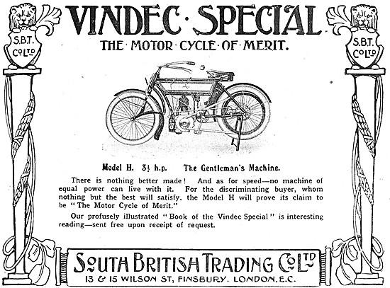 Vindec 3.5 hp Motorcycle