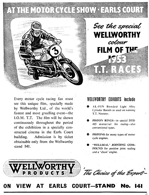 Wellworthy Piston Rings - Wellseal Jointing Compound