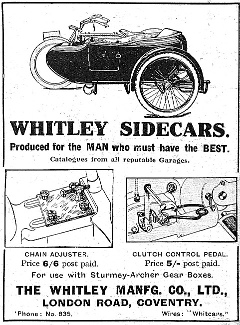Whitley Sidecars