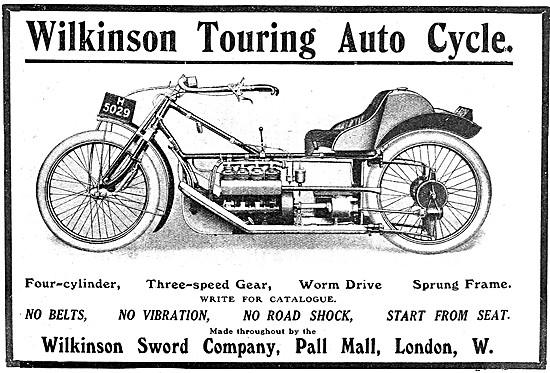 Wilkinson Sword Touring Autocycle