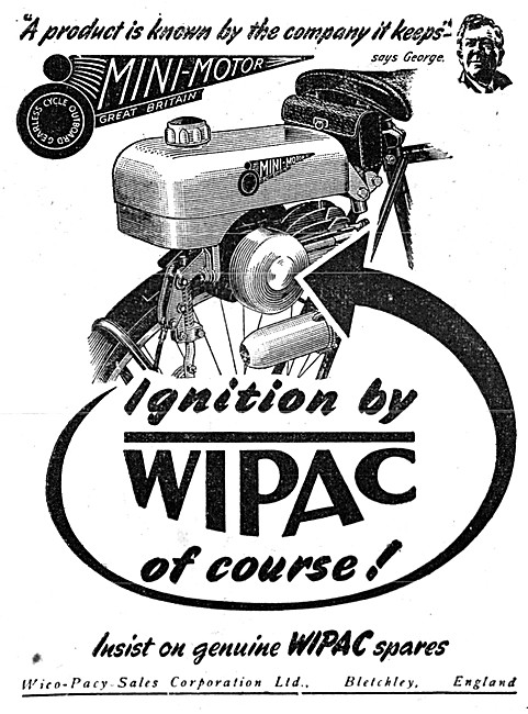 Wipac Ignition Equipment