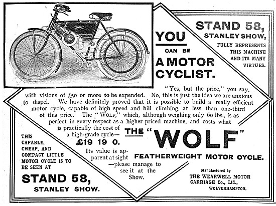 Wolf Motor Cycles