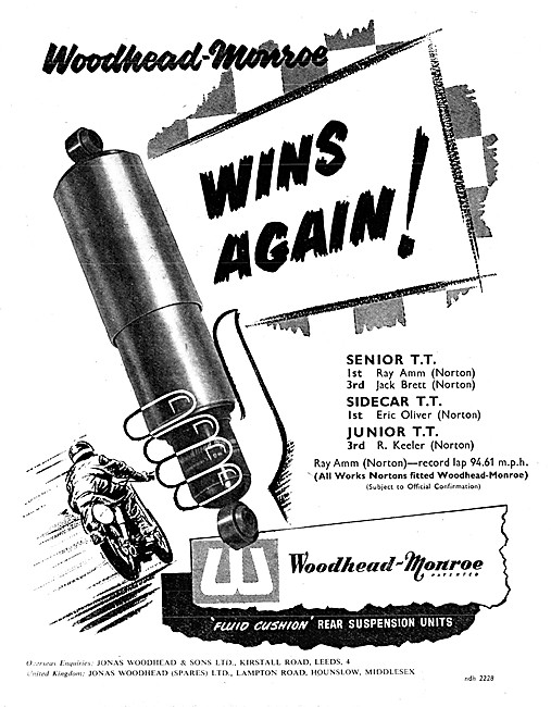 Woodhead-Monroe Suspension Units