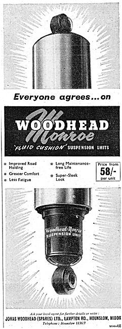 Woodhead Monroe Suspension Units
