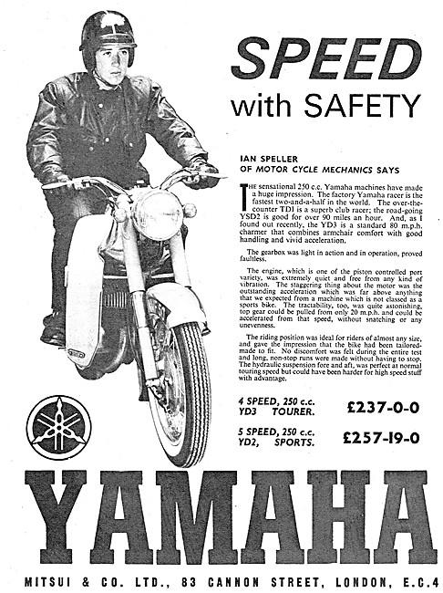Yamaha YD3 Tourer - Yamaha YD2 Sports 250 cc