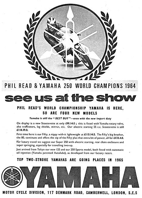 Yamaha Sports Motor Cycles 1964