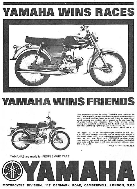 Yamaha YG1 80 cc - Yamaha YF1 50 cc